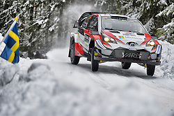 February 15, 2018 - Suede - Jari-Matti Latvala (FIN) – Miikka Anttila (FIN) - Toyota Yaris WRC (Credit Image: © Panoramic via ZUMA Press)