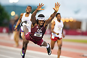 Texas A&M Aggies Track and Field team at the 2019 SEC Outdoor Championships in Fayetteville, Arkansas.<br /> <br /> All Rights Reserved to Wesley Hitt and the Texas A&M University.  No usage granted without written permission.