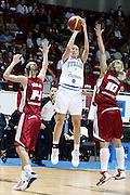 DESCRIZIONE : Riga Latvia Lettonia Eurobasket Women 2009 Semifinal 5th-8th Place Italia Lettonia Italy Latvia<br /> GIOCATORE : Francesca Modica<br /> SQUADRA : Italia Italy <br /> EVENTO : Eurobasket Women 2009 Campionati Europei Donne 2009 <br /> GARA : Italia Lettonia Italy Latvia<br /> DATA : 19/06/2009 <br /> CATEGORIA : tiro<br /> SPORT : Pallacanestro <br /> AUTORE : Agenzia Ciamillo-Castoria/E.Castoria<br /> Galleria : Eurobasket Women 2009 <br /> Fotonotizia : Riga Latvia Lettonia Eurobasket Women 2009 Semifinal 5th-8th Place Italia Lettonia Italy Latvia<br /> Predefinita :