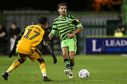 Forest Green Rovers Dominic Bernard(3) passes the ball forward during the EFL Sky Bet League 2 match between Forest Green Rovers and Port Vale at the New Lawn, Forest Green, United Kingdom on 11 February 2020