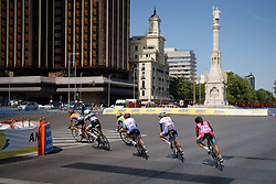 The race gets underway at Madrid Challenge by La Vuelta an 87km road race in Madrid, Spain on 11th September 2016.