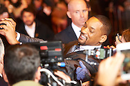 US Actor Will Smith attends 'Concussion' Premiere at Callao Cinema on January 27, 2016 in Madrid