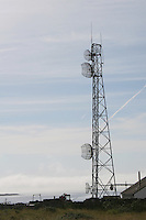 Communications mast at Kilronan Aran Islands County Galway Ireland