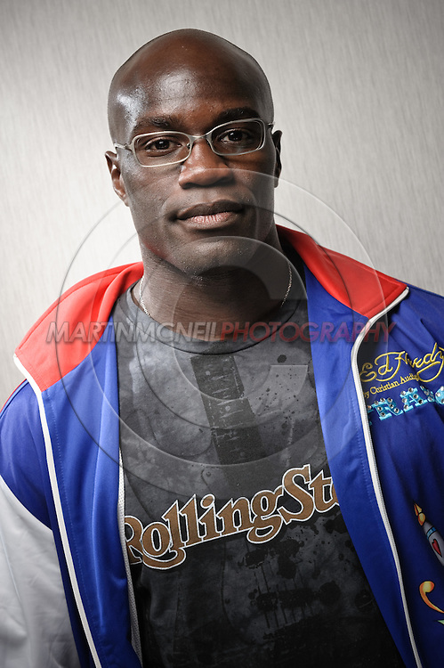 A portrait of mixed martial arts athlete Cheick Kongo