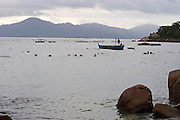 Florianopolis_SC, Brasil.<br /> <br /> Praia da Armacao em Florianopolis, Santa Catarina.<br /> <br /> Armacao beach in Florianopolis, Santa Catarina.<br /> <br /> Foto: JOAO MARCOS ROSA / NITRO