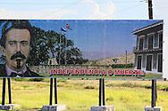 Revolutionary sign in Bayamo, Granma, Cuba.