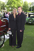 Anna Kournikova, Sergei Fedorov. The Louis Vuitton Clasic. Hurlingham Club, London. 2 June 2001. © Copyright Photograph by Dafydd Jones 66 Stockwell Park Rd. London SW9 0DA Tel 020 7733 0108 www.dafjones.com
