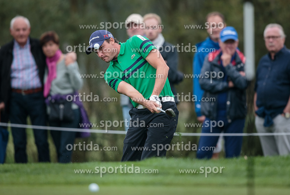 26.09.2015, Beckenbauer Golf Course, Bad Griesbach, GER, PGA European Tour, Porsche European Open, im Bild Benjamin Hebert (FRA) // during the European Tour, Porsche European Open Golf Tournament at the Beckenbauer Golf Course in Bad Griesbach, Germany on 2015/09/26. EXPA Pictures © 2015, PhotoCredit: EXPA/ JFK