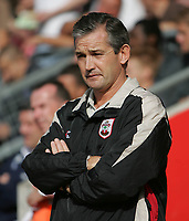 Photo: Lee Earle.<br /> Southampton v Queens Park Rangers. Coca Cola Championship. 30/09/2006. Southampton manager George Burley.