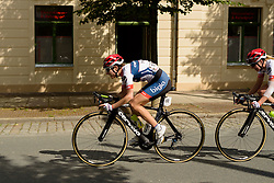 Nicole Hanselmann and her Cervélo Bigla teammates set the pace to chase down the break with 20 km to go at Thüringen Rundfarht 2016 - Stage 5 a 99km road race starting and finishing in Greiz, Germany on 19th July 2016.
