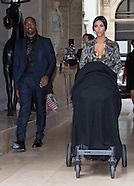 Kim Kardasian & Kanye West Pre-Wedding Party, Paris
