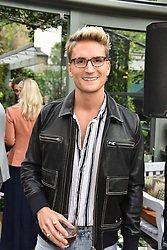 Oliver Proudlock at The Ivy Chelsea Garden's Annual Summer Garden Party, The Ivy Chelsea Garden, 197 King's Road, London England. 9 May 2017.<br /> Photo by Dominic O'Neill/SilverHub 0203 174 1069 sales@silverhubmedia.com