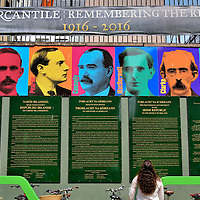 Irish Rising Leaders in Dublin, Ireland <br />