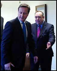 File photo - Alex Salmond with David Cameron