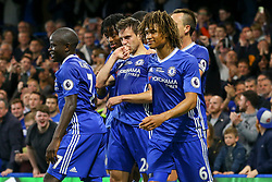 Chelsea celebrate Cesar Azpilicueta of Chelsea goal, Chelsea 2-1 Watford - Mandatory by-line: Jason Brown/JMP - 15/05/2017 - FOOTBALL - Stamford Bridge - London, England - Chelsea v Watford - Premier League