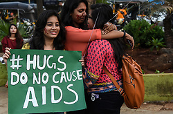 MUMBAI,Dec. 1, 2018  Indian Students Participate in World Aids day Rally in Mumbai, India  Saturday, Dec. 1, 2018.World AIDS Day has been observed today since 1988 to raise awareness of the AIDS pandemic,A UNICEF report released ahead of World AIDS Day 2018 warned that by 2030, around 80 adolescents will be dying of AIDS every day if ''we don't accelerate progress in preventing transmission. (Credit Image: © Stringer/Xinhua via ZUMA Wire)