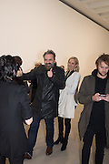 KEITH TYSON;  STICKS WITH DICKS AND SLITS, Tim Noble and Sue Webster. Blain Southern. hanover Sq. london. 2 February 2017