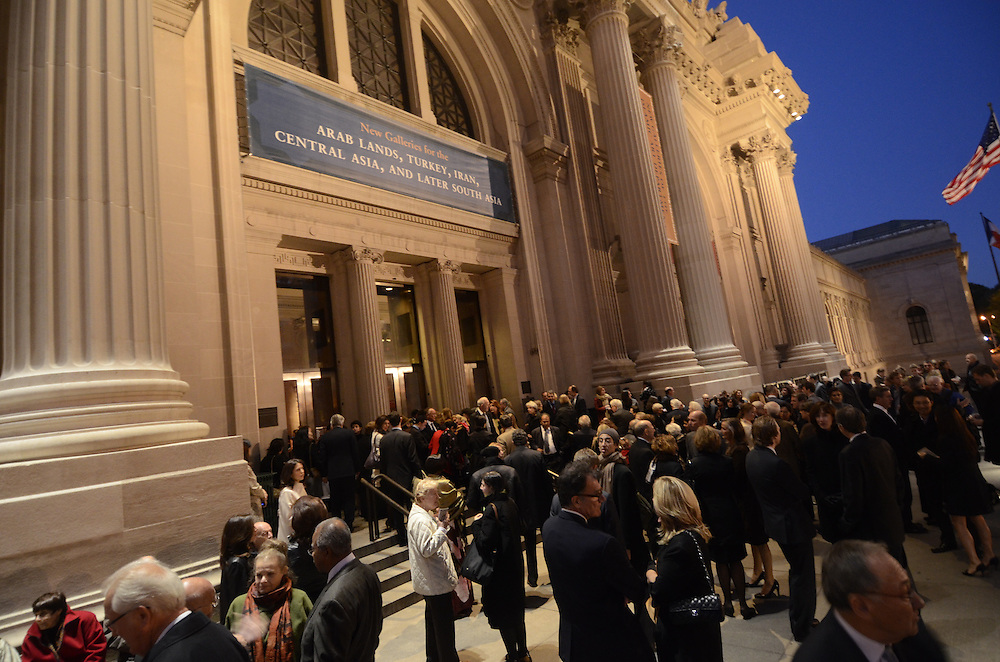 Metropolitan Museum reception for Galleries for the Art of the Arab Lands, Turkey, Iran, Central Asia, and Later South Asiaon October 25, 2011