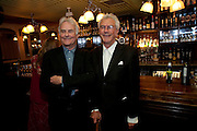 RICHARD EYRE; MICHAEL WHITE, party after the press night of 'The Last Cigarette' at  the Trafalgar Studios. Party at Walkers, Craig's Court, Whitehall. London.  28 April 2009