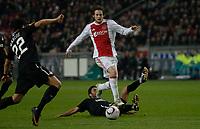 Football - Europa League Round of 16 - Ajax v Spartak Moscow <br />Daley Blind, Ajax, attacks