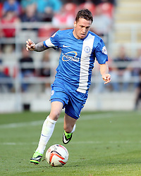 Peterborough United's Danny Swanson - Photo mandatory by-line: Joe Dent/JMP - Tel: Mobile: 07966 386802 28/09/2013 - SPORT - FOOTBALL - New York Stadium - Rotherham - Rotherham United V Peterborough United - Sky Bet One