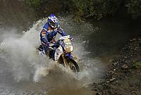 Motor<br /> Paris Dakar<br /> Foto: Dppi/Digitalsport<br /> NORWAY ONLY<br /> <br /> MOTORSPORT - DAKAR 2007 - STAGE 2 - PORTIMAO . MALAGA  07/01/2007<br /> <br /> MOTO - GJERMUND FROSTAD (NOR) / YAMAHA - ACTION