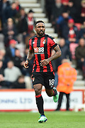 Jermain Defoe (18) of AFC Bournemouth during the Premier League match between Bournemouth and Crystal Palace at the Vitality Stadium, Bournemouth, England on 7 April 2018. Picture by Graham Hunt.