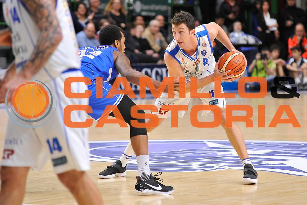 Giacomo Devecchi<br /> Banco di Sardegna Dinamo Sassari - Enel New Basket Brindisi<br /> LegaBasket Serie A LBA Poste Mobile 2016/2017<br /> Sassari 02/04/2017<br /> Foto Ciamillo-Castoria