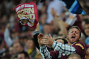 July 6th 2011: QLD fan shows his support during game 3 of the 2011 State of Origin series at Suncorp Stadium in Brisbane, QLD, Australia on July 6, 2011. Photo by Matt Roberts / mattrimages.com.au / QRL