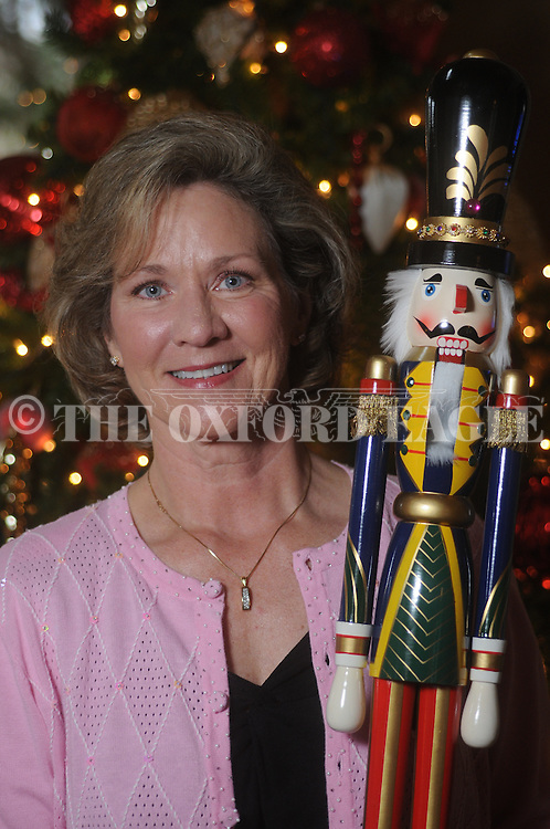 Melissa Harwell photographed  Monday, December 14, 2009 at her house. Harwell has a collection of over 500 nutcrackers.