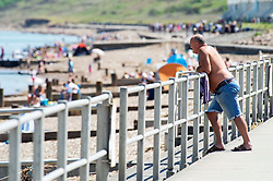 ©Licensed to London News Pictures 20/05/2020  <br /> Minster on sea, UK. People enjoying their lockdown freedom with a day by the sea at Minster-on-sea on the Isle of Sheppey in Kent. Today is expected to be the hottest day of the year with temperatures in the South East of the UK to hit around 29C. Photo credit:Grant Falvey/LNP