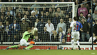 Photo: Aidan Ellis.<br /> Blackburn Rovers v Manchester City. The FA Cup. 11/03/2007.<br /> Rovers Matt Derbyshire scores the second goal