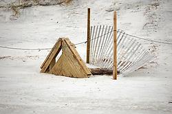 Wood and Fence, Wrightsville Beach, North Carolina