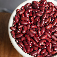 Dried 'Charlevoix' Kidney beans.