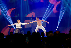 Mia Pungersic, disabled dancer during presentation of Team Slovenia for Sochi 2014 Winter Olympic Games on January 22, 2014 in Grand Hotel Union, Ljubljana, Slovenia. Photo by Vid Ponikvar / Sportida