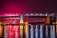Celebration of Light 2017, Burrard Bridge, Vancouver