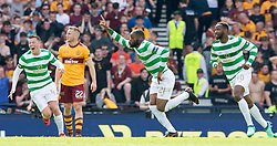 Celtic's Olivier Ntcham celebrates scoring his side's second goal of the game during the William Hill Scottish Cup Final at Hampden Park, Glasgow.