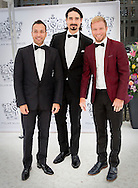 Stockholm , 16-06-2016<br /> <br /> King Carl Gustaf and Queen Silvia, Crown Princess Victoria and Prince Daniel and Prince Carl Philip and Princess Sofia attend the Polar Music Prize 2016 Ceremony<br /> <br /> Backstreet Boys : Howard Dorough, Brian Littrell, Kevin Richardson <br /> <br /> <br /> COPYRIGHT:ROYALPORTRAITS EUROPE/BERNARD RUEBSAMEN