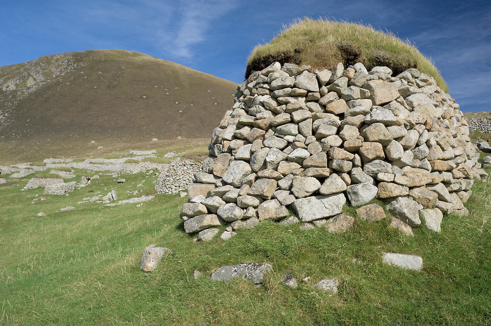 Cleit used for storing food on St. Kilda