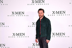 James McAvoy attending the X-Men: Dark Phoenix photocall held at Picturehouse Central, London.
