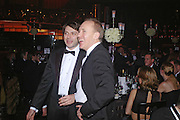 Nicolai Uskov ( Editor of Russian GQ)  and Gabhan O'Keefe. Vivid Collection at Russian Rhapsody, Royal Albert Hall. 11 April 2005. ONE TIME USE ONLY - DO NOT ARCHIVE  © Copyright Photograph by Dafydd Jones 66 Stockwell Park Rd. London SW9 0DA Tel 020 7733 0108 www.dafjones.com
