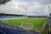 during the Sky Bet League 2 match between Portsmouth and Crawley Town at Fratton Park, Portsmouth, England on 2 January 2016. Photo by Adam Rivers.