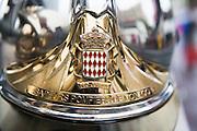 May 20-24, 2015: Monaco Grand Prix - Autoclub de Monaco helmet detail