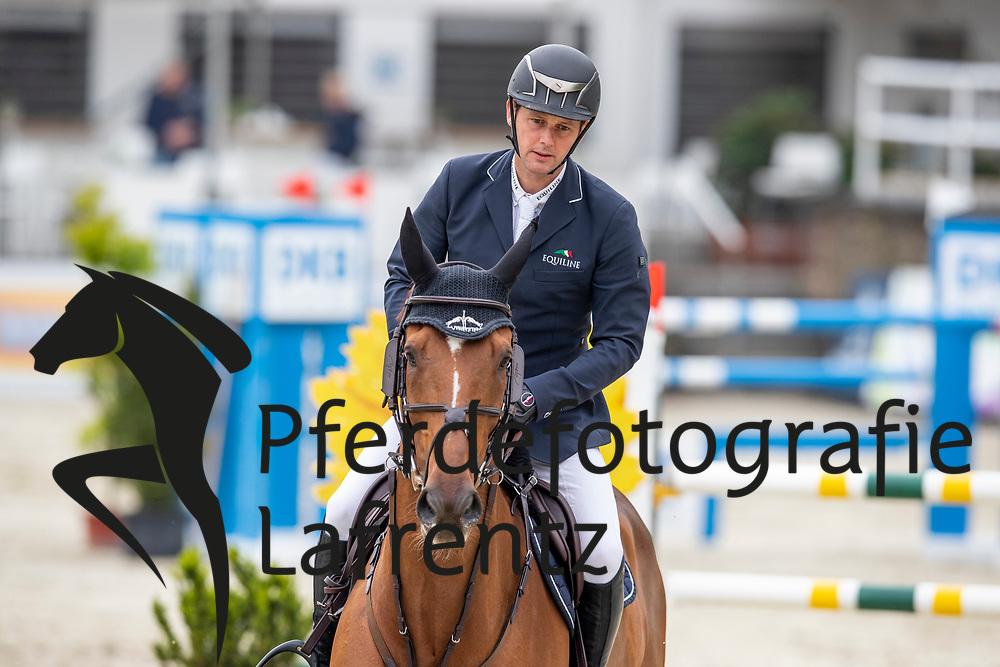 TWOMEY Billy (IRL), Lotta Lou<br /> Nörten-Hardenberg - Burgturnier 2018<br /> Preis des Hardenberg GolfResort<br /> Eröffnungsspringen CSI3*<br /> Internationale Springprüfung (1,40 m)<br /> 17. Mai 2019<br /> © www.sportfotos-lafrentz.de/Stefan Lafrentz