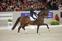 Gal Edward (NED) - Sisther De Jeu<br /> CDI-W 's Hertogenbosch<br /> Photo © Dirk Caremans