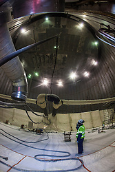 Inside the new Ethane gas tank.<br /> INEOS Rafnes plant, in Norway, as part of an INEOS Media Trip.