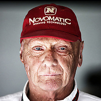 LAUDA niki non-executive chairman of mercedes f1 team ambiance portrait during 2015 Formula 1 FIA world championship, Bahrain Grand Prix, at Sakhir from April 16 to 19th. Photo Clément Marin / DPPI