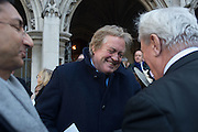 THE DUKE  OF MARLBOROUGH, Service of Thanksgiving for the life of Edward Baron Montagu of Beaulieu. St. Margaret's Westminster. London. 20 January 2016