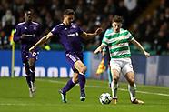 Celtic v Anderlecht, 5 Dec 2018