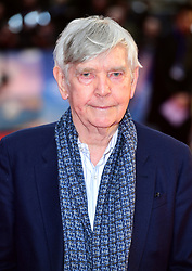 Tom Courtenay attending The Guernsey Literary and Potato Peel Pie Society world premiere held at Curzon Mayfair, London.